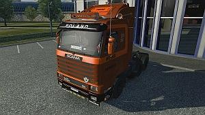 Scania 143M truck
