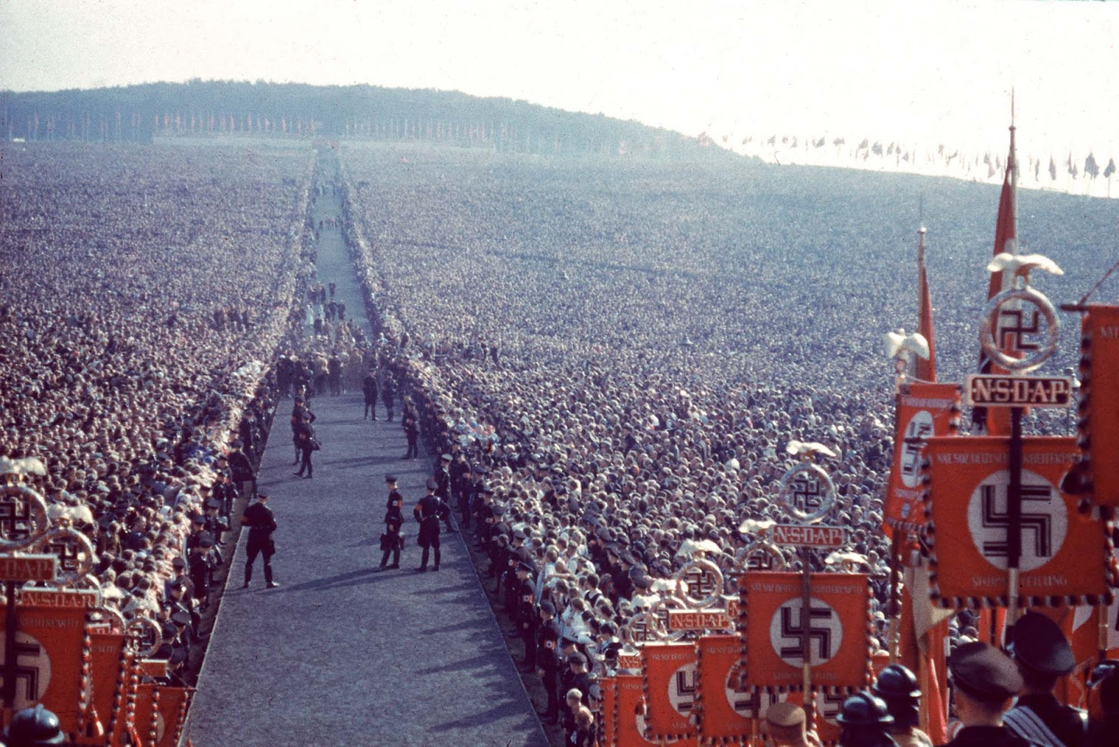 Reichserntedankfest of 1934 in Bückeberg.