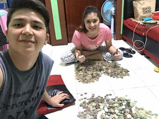 Viral, Kisah Sepasang Kekasih Nabung Dengan Uang Koin Hingga Rp 265 Juta
