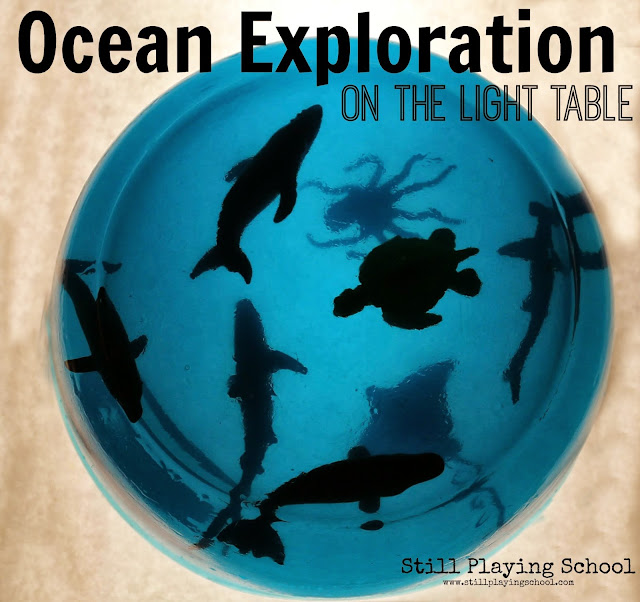 Jello gelatin sensory ocean exploration for kids!