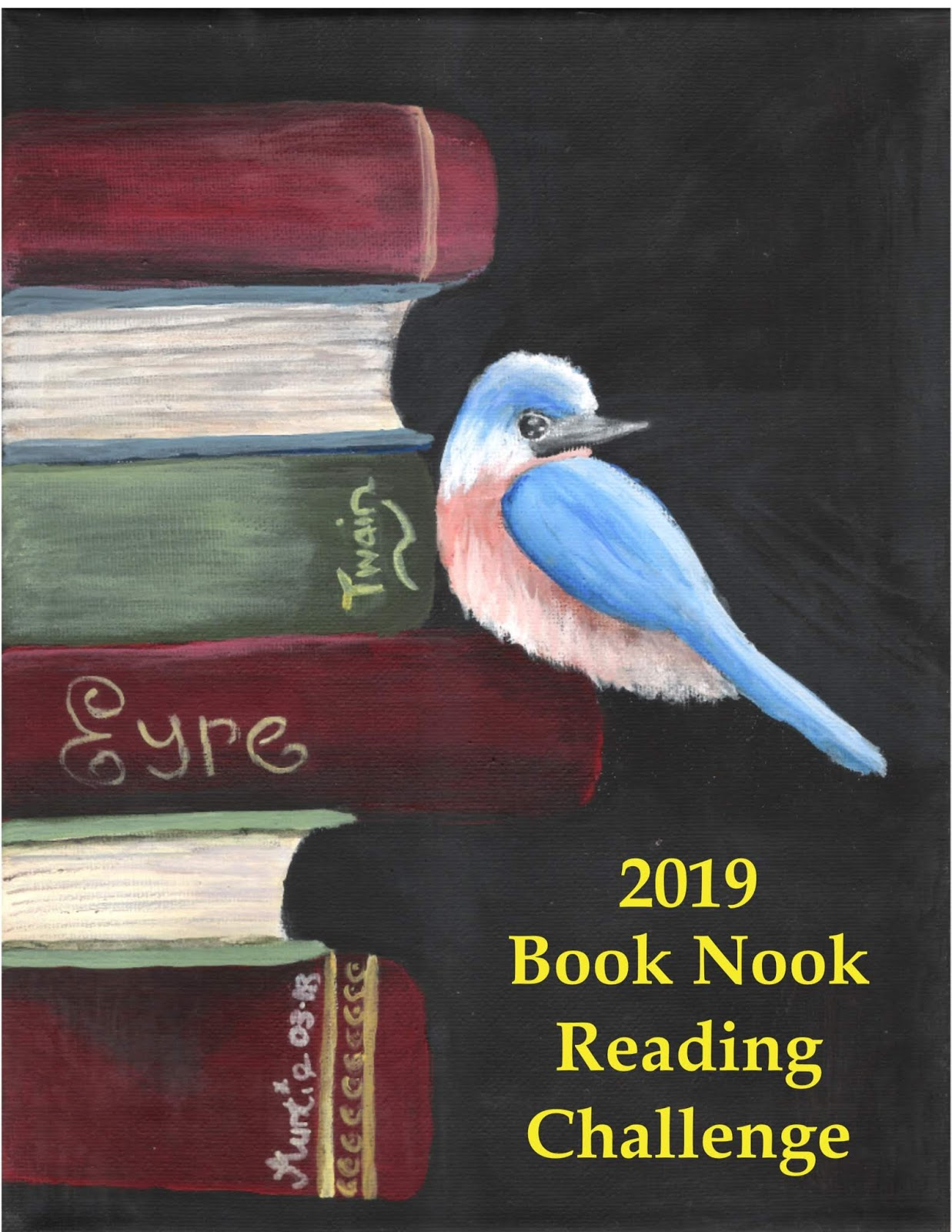 2019 Book Nook Reading Challenge
