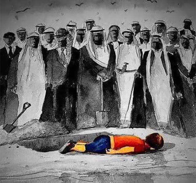 karikatura sirijskog dječaka Aylan Kudri