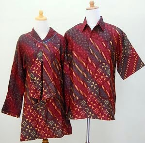 model baju batik kantoran