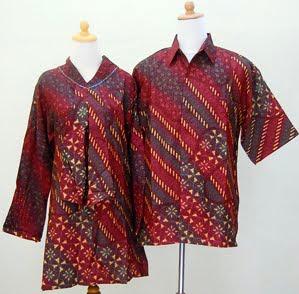 Model Baju Batik Pria Kombinasi Kain Polos Terbaru, Foto dan Gambarnya