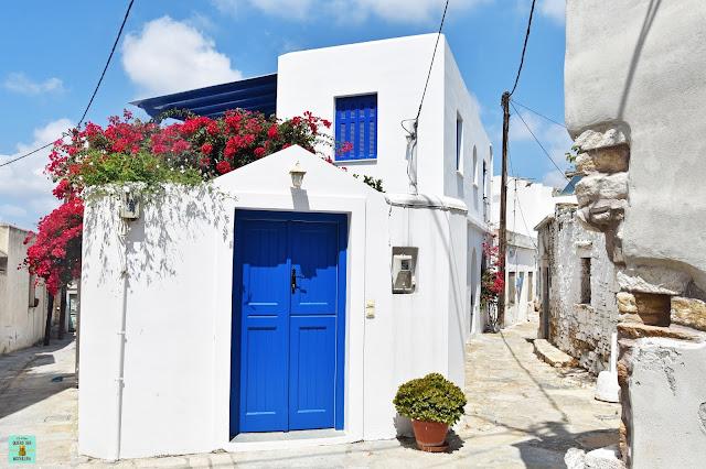 Sangri, isla de Naxos (Grecia)