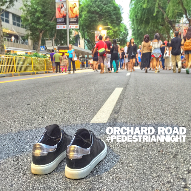 Singapore What to do: Pedestrian Night on Orchard Road!