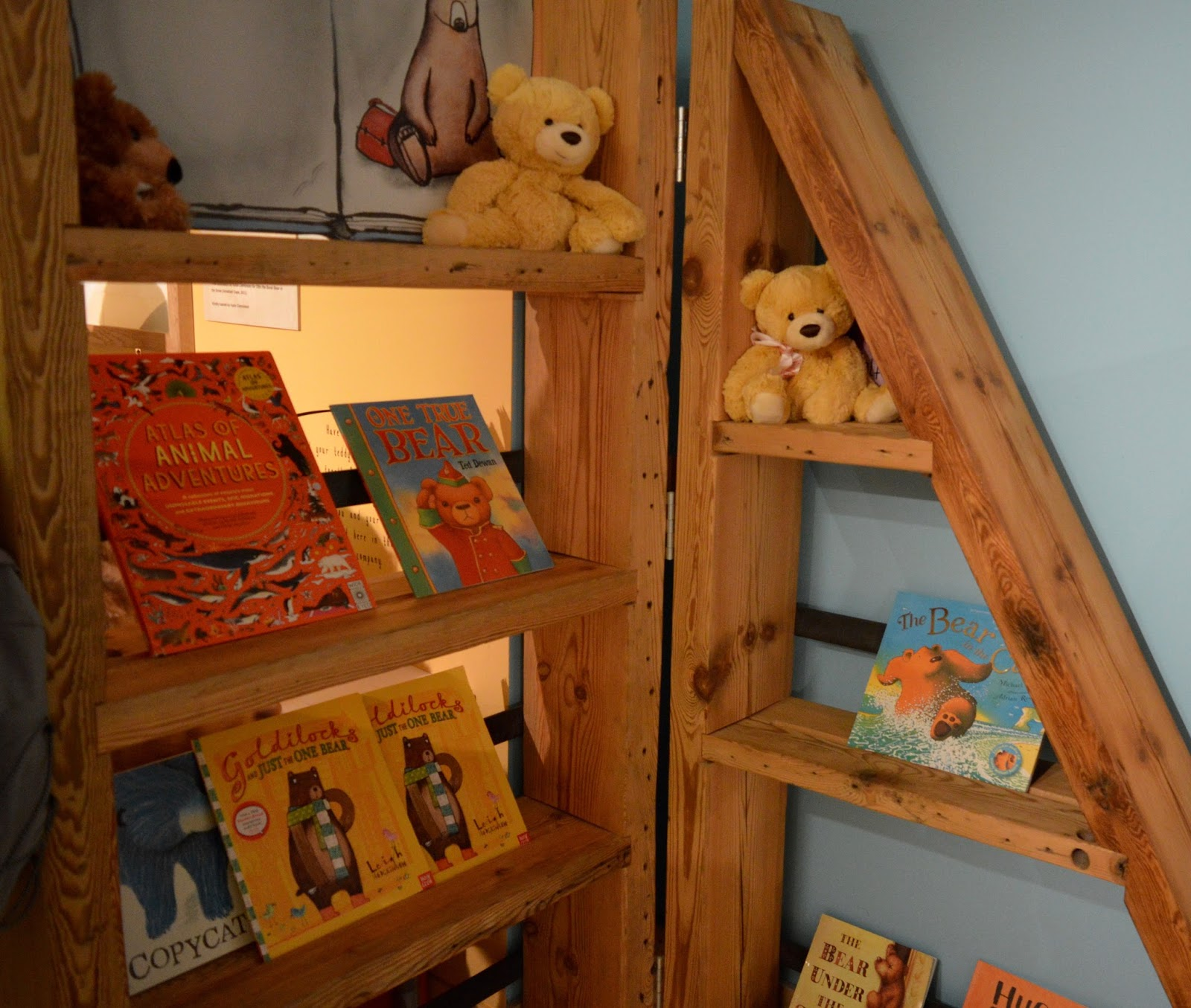 Seven Stories Newcastle | Parking & Admission plus Bears! Exhibition Review - bear story books
