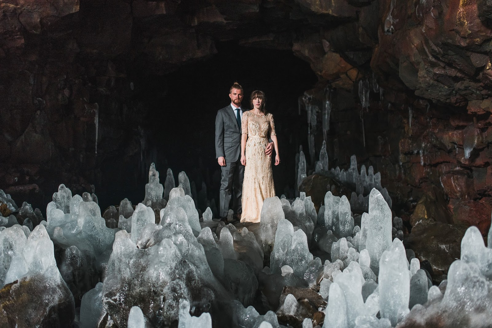 Ice Cave Elopement
