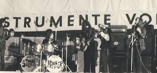 Steamhammer in concert, Hamburg, Germany, Easter 1970.