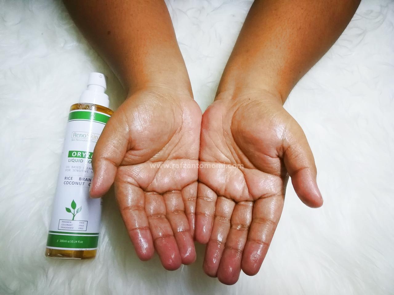 RenoSkin Oryza Liquid Soap - Pembersih Untuk Kulit Sensitif