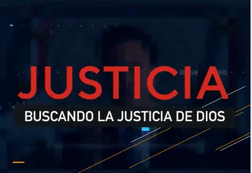 Buscando La Justicia de Dios - Sesión 01