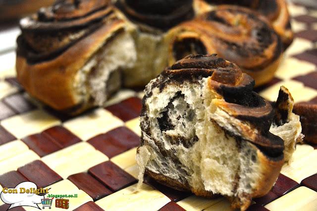 pull-apart brioche cake עוגת בריוש שוקולד