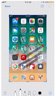 Cara Cepat Markup dan Share Screenshot di iOS 11, Begini caranya