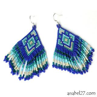 длинные серьги к синему платью серьги в бохо стиле купить