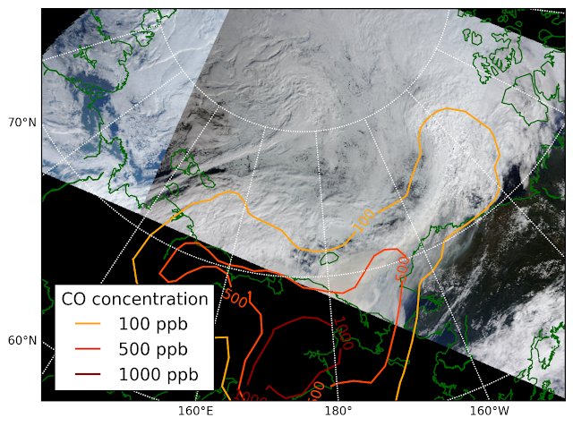 Arctic clouds highly sensitive to air pollution