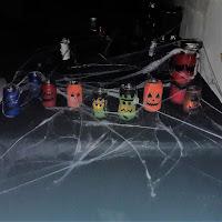 bricolage atelier créatif halloween facile décoration lanternes lumineuses