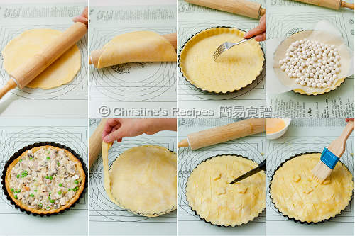 Mushroom Chicken Pie Procedures02