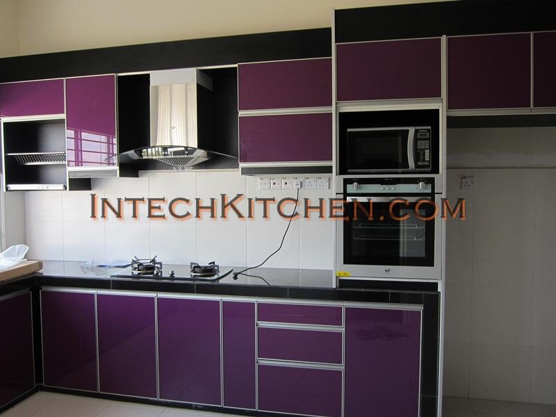 3g Gl Door Purple Color At Nusaputra Puchong