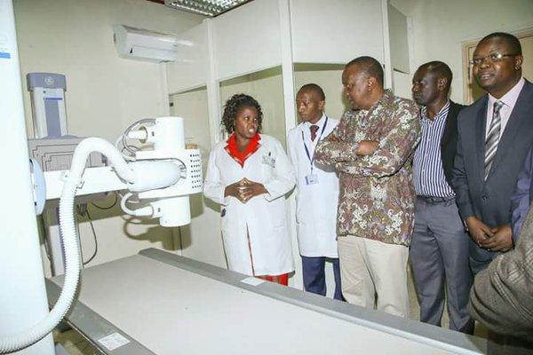 #UhuruInNakuru: Photos Of President Uhuru Kenyatta In Nakuru County!