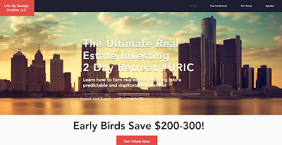 #URIC Ultimate Real Estate Investing 2 Day Retreat August 23rd and 24th. Livonia Michigan