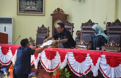 DPRD Lampung Timur Gelar Rapat Paripurna Pertanggungjawaban APBD TA 2017