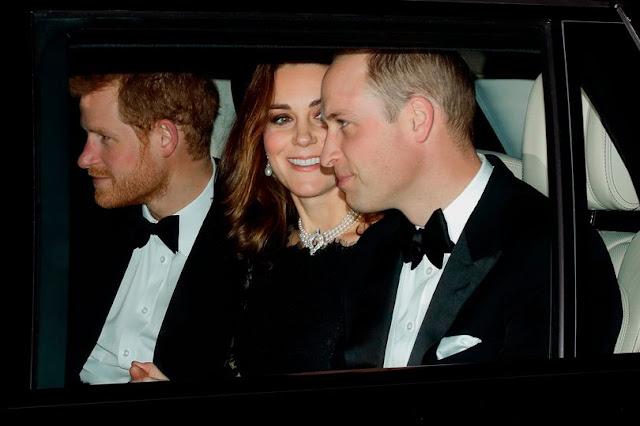 Kate i William na przyjęciu z okazji 70. rocznicy ślubu Królowej Elżbiety II i księcia Filipa