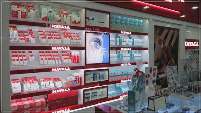 Os cosméticos e a perfumaria de luxo da Monalisa!