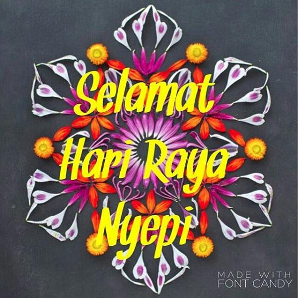 Gambar Instagram Selamat hari Raya Nyepi