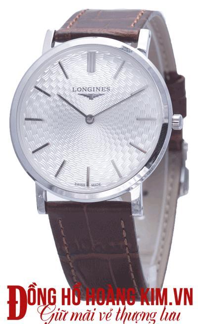 mua đồng hồ đeo tay nam dây da hàng hiệu