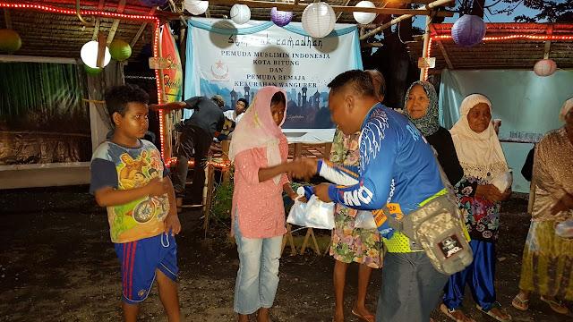 Semarak Ramadhan, Pemuda Muslimin Indonesia Buka Puasa Bersama Dan Santuni Kaum Dhuafa
