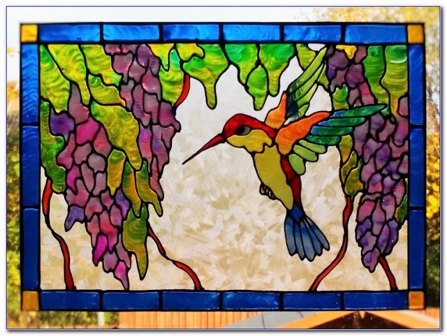 Buy WINDOW Decals Stained GLASS design