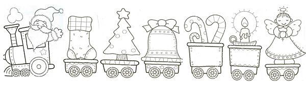 Dibujos De Trenes Para Colorear Infantiles
