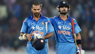 Dhawan, Kohli star as India rout Sri Lanka by 9 wickets
