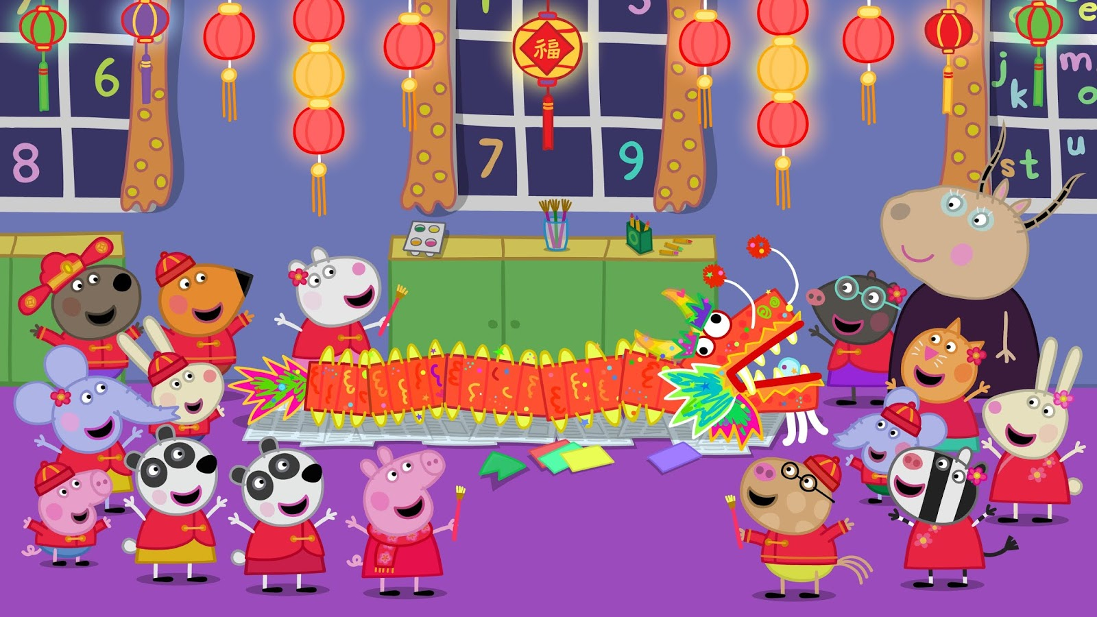 Nickalive Peppa Pig Lights Up The Globe With Chinese New Year