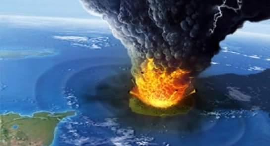 Dahsyatnya Letusan gunung anak krakatau
