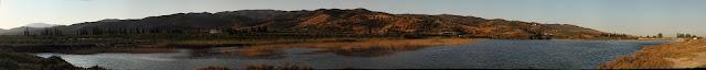 Sabariza lagoon panoramic view