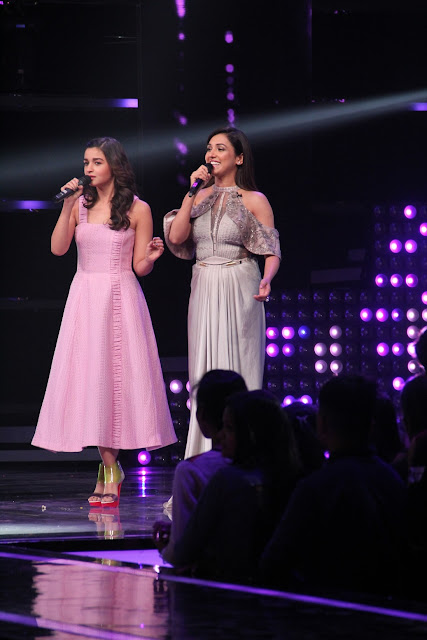 Alia Bhatt showcases her singing skills with Coach Neeti Mohan on the se...