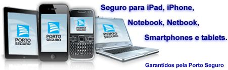 Seguro de celular, notebook, maquina fotográfica e tablet