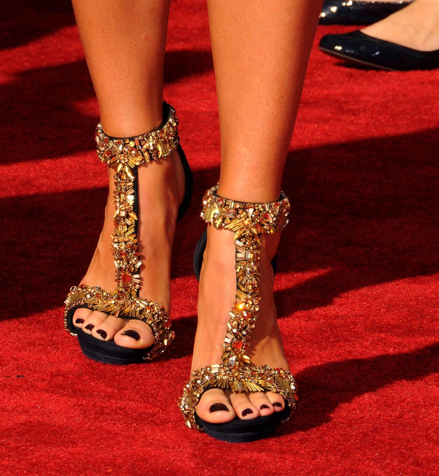 Celebrity Feet Close-u...