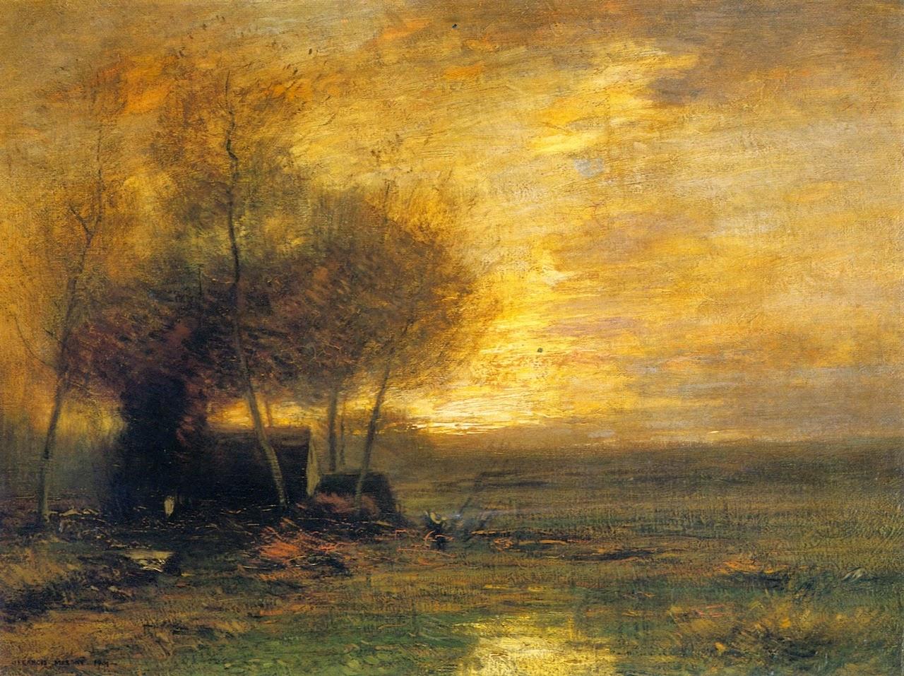John Joseph Enneking Tonalist Impressionist Painter