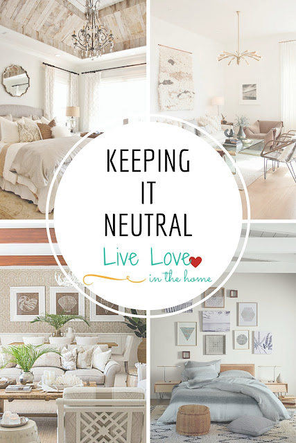 Keeping it Neutral - Interior Design Photo Collection Inspiration and Ideas by Live Love in the Home