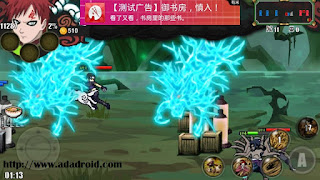 Download Sprite Senki : Sasuke Cursed Skill Rep Gaara by Ridwan