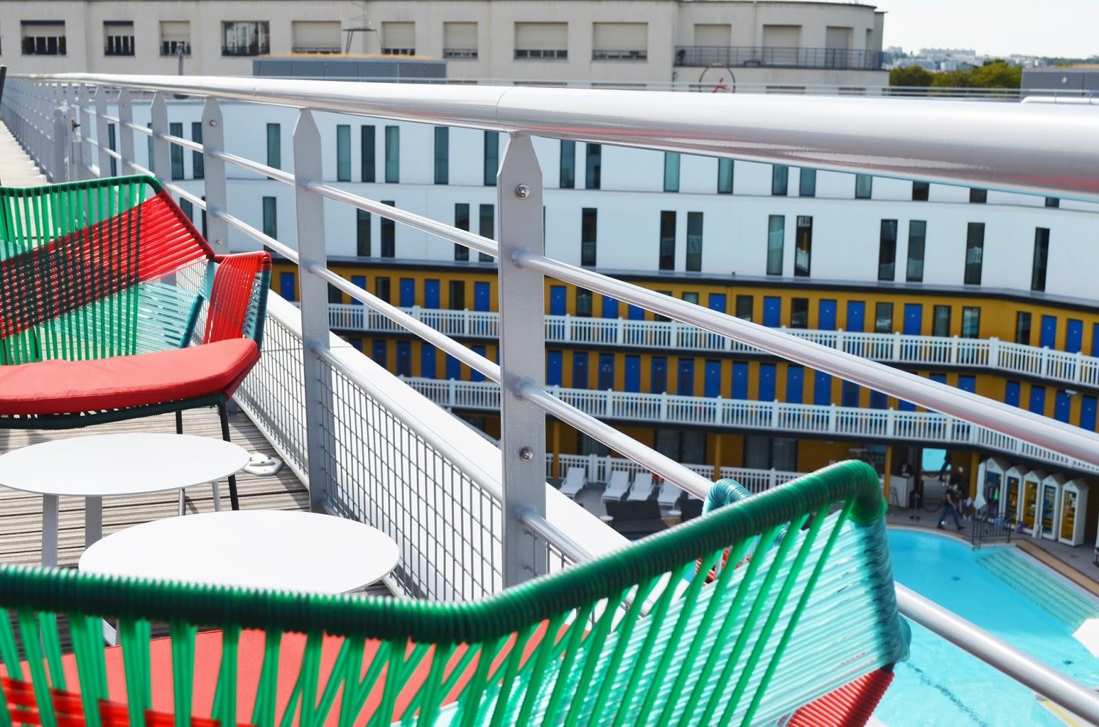 Le rooftop de la piscine molitor parisian touch for Piscine molitor restaurant