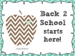 Back to school activities for primary grades