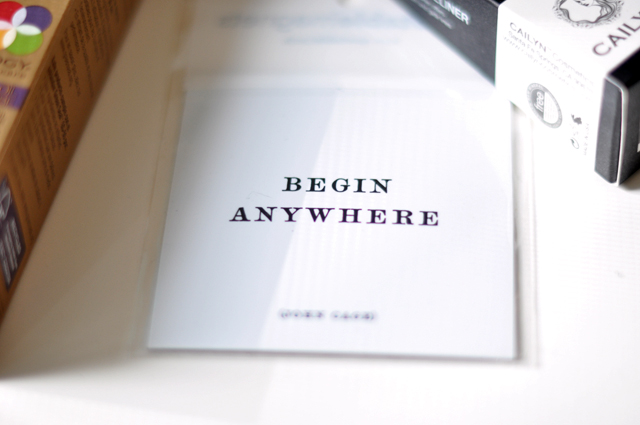 begin anywhere magnet