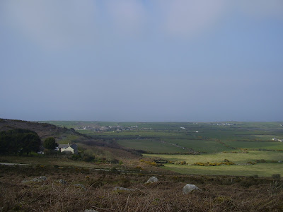 St Ives - View Towards Consols From Rosewall Hill