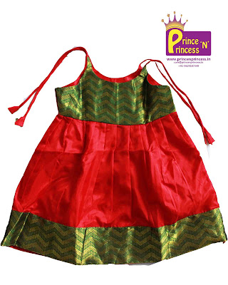 new just born silk frock kids baby langa pattu pavadai