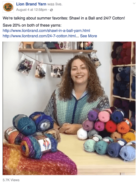 lion-brand-yarn-facebook-live