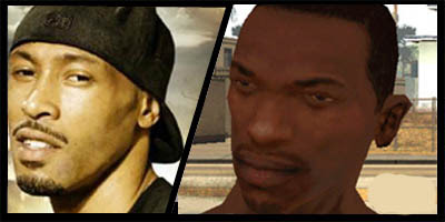 San Andreas main characters voice Actors - With pictures