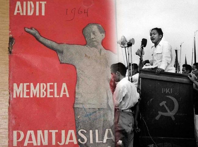 Aidit yang ngotot jadikan 1 Juni 1964 sebagai hari Pancasila, setahun kemudian Aidit juga yang berkhianat pada Pancasila.